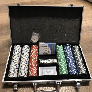 Gambling chip with poker and dice for Sale in Malden, MA