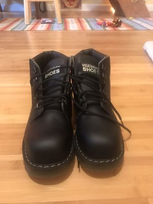 Brighton Vegetarian Shoes Steel Toe Work Boots for Sale in Olympia, WA