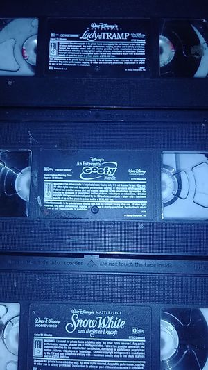 3 Disney VHS movies for Sale in Chandler, AZ