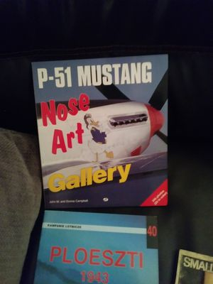 VTG. BOOKS ! P-51 Nose Art Gallery, Ploeszti 1943, for Sale for sale  Brooklyn, OH