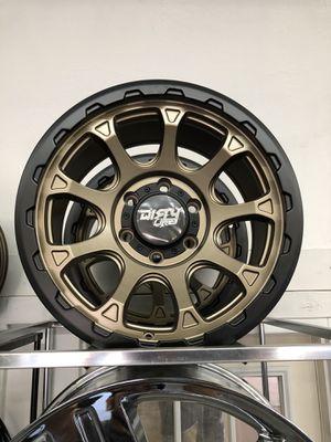 17x9 dirty life wheels for Sale in Phoenix, AZ