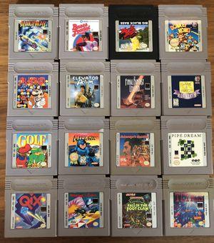 Gameboy Games Lot - Nintendo Original for Sale in Hamden, CT