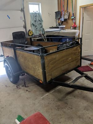 4ft by 12ft to the toung trailer for Sale in Bend, OR