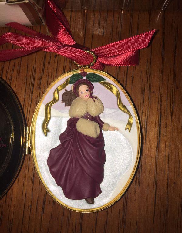 Barbie Victorian Elegance Hallmark Christmas ornament new in box