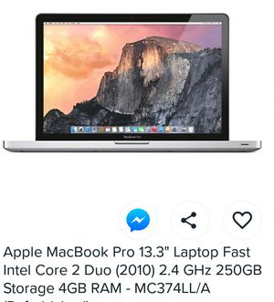 Mac book laptop for Sale in Randolph, MA