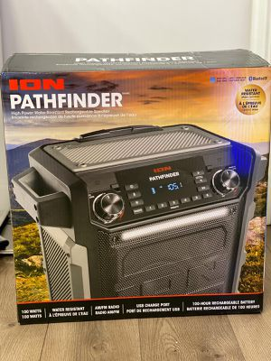 Ion audio pathfinder portable Bluetooth speaker for Sale in Framingham, MA