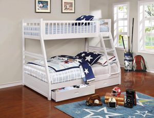 Twin over full bunkbed with mattress for Sale in Miami Gardens, FL