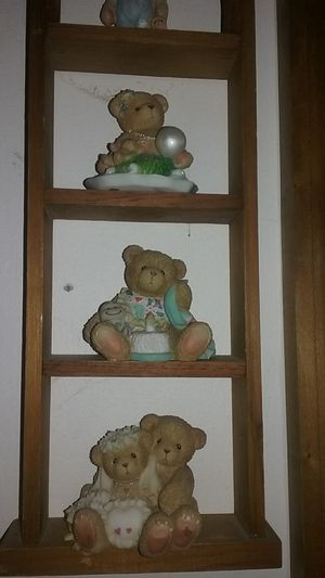 Cherished teddy lot with display shelf for Sale in Broad Run, VA