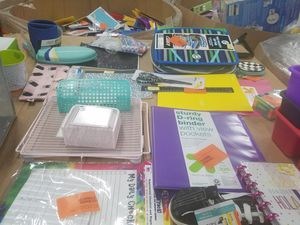 Brand New Assorted school supplies.. for Sale in Durham, NC