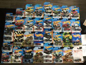 Trucks Hot Wheels Hotwheels Diescast Lot Ford Chevy Jeep Land Rover Dodge Hummer $2.50 Each for Sale in San Diego, CA