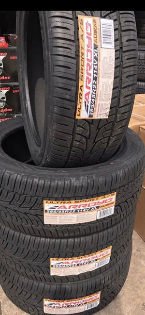 2854522 wheels and tires all 4 MONKEY WHEELS AND TIRES 4121 W Indian School Rd Phoenix, Az 85019 *480== 307==2141 for Sale in Scottsdale, AZ