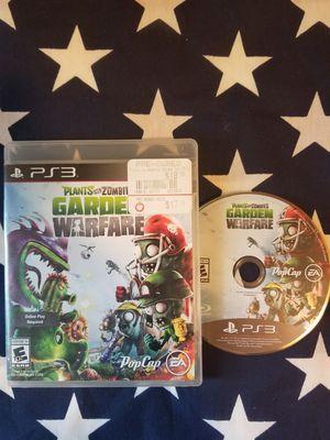 Plants Vs Zombies Garden Warfare (PS3) for Sale in US