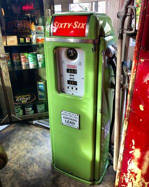 National 64 porcelain gas pump for Sale in Snohomish, WA