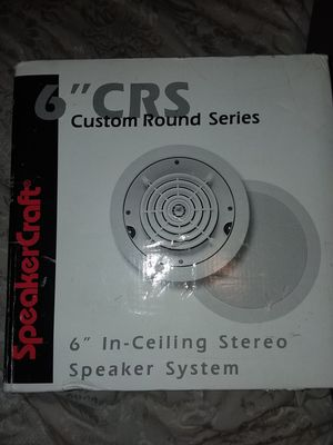 "CSR 6"" In-Ceiling stereo speaker system Custom Round Series for Sale in Phoenix, AZ"