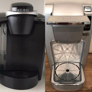 TWO Keurigs, plus a 24-pod carousel for Sale in Yorba Linda, CA