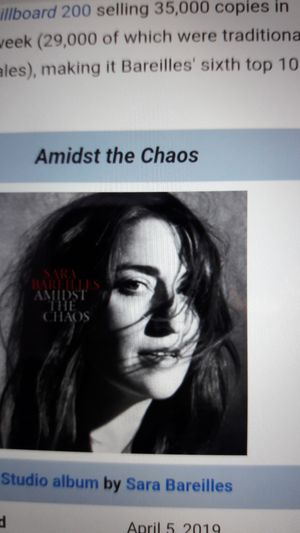 SARA BAREILLES **AMIDST THE CHAOS TOUR** for Sale in Oceanside, CA