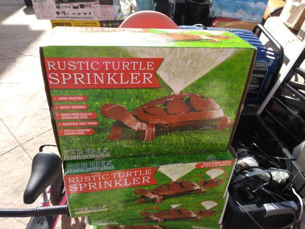 Rustic Turtle Sprinkler Each $25 Or All $100