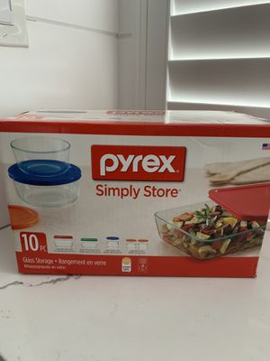 Pyrex Glass 10 Piece Set for Sale in Whittier, CA