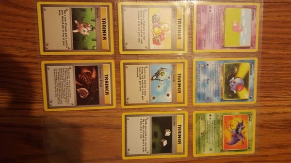 👣 Pokemon cards - NEAR complete FOSSIL set 👣
