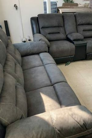 ♨️♨️ Best Offer ♨️SPECIAL] Earhart Slate Reclining Living Room Set 🙋‍♀️🙋‍♀️🙏 for Sale in Jessup, MD