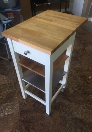 Rolling kitchen island for Sale in Plano, TX