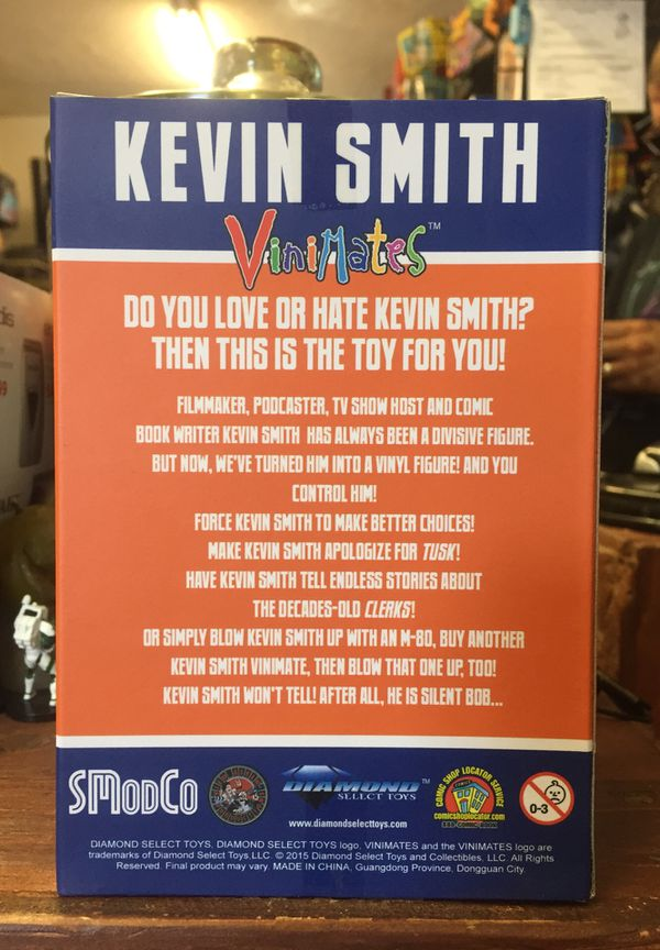 San Diego Comic Con Exclusive Kevin Smith Vinimates by Diamond Select