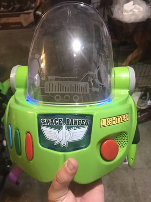 Buzz light year helmet for Sale in Newark, CA