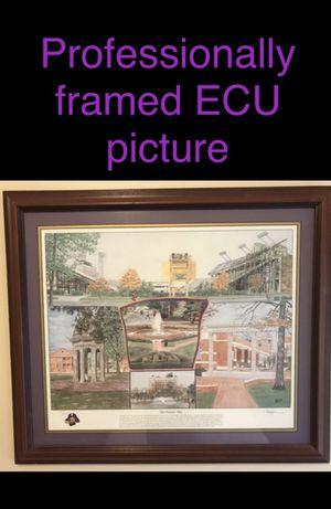 East Carolina University Framed Art for Sale in Springfield, VA