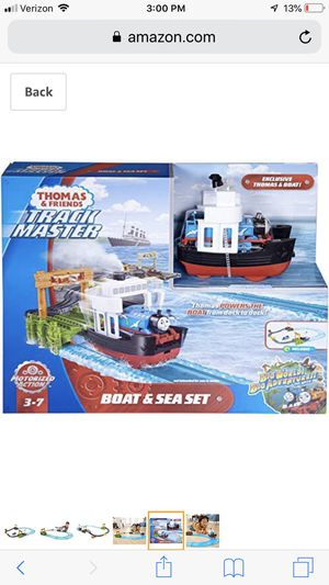 Thomas and friends boat and see track brand new in box for Sale in Chandler, AZ