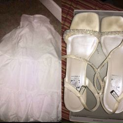 Bridal Petticoat & Shoes for Sale in Renton,  WA