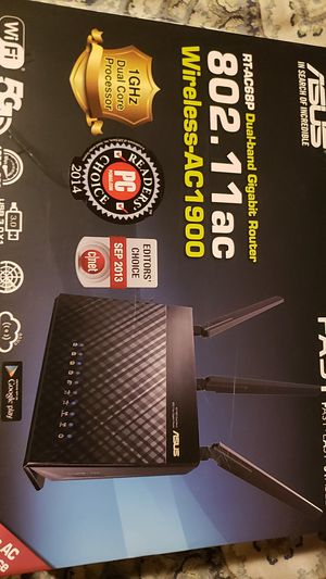 Asus wireless ac1900 dual band gigabit router for Sale in Denver, CO