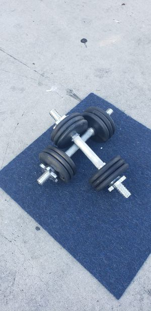 Set of dumbbells for Sale in Long Beach, CA