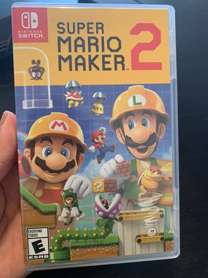 Super Mario maker 2 (Nintendo switch) for Sale in Homestead, FL