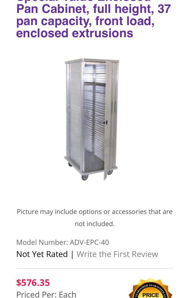 National Cart, Pan Cabinet/Hot Boxes