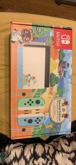 Nintendo switch animal crossing edition for Sale in Trinity, FL