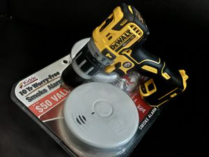 XR Hammer Drill + 2pack Smoke Detector for Sale in Brooklyn, NY