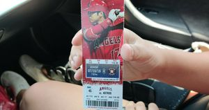 Angel tickets 2 with parking for Sale in Bellflower, CA