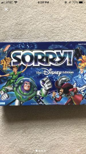 Sorry! The Disney edition for Sale in Appleton, WI