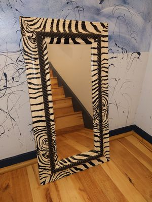Zebra print mirror for Sale in Atlanta, GA