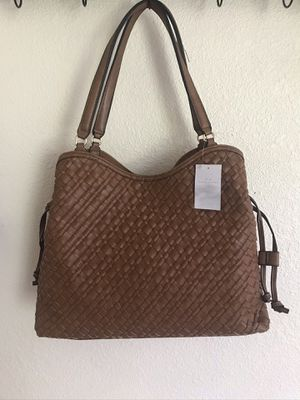 New Directions Woven Wide Hobo Bag for Sale in Clermont, FL
