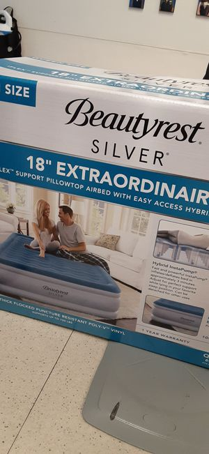Beautyrest Silver Queen Airbed for Sale in Kansas City, MO