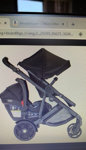 Britax Car seat, stroller and stroller board! 3 in 1!! for Sale in Revere, MA
