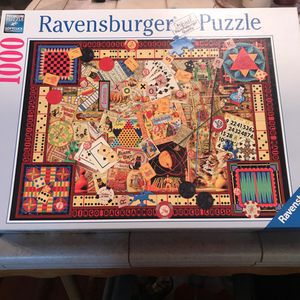 1000 Piece Puzzle RAVENSBURGER BOARD GAMES for Sale in Torrance, CA