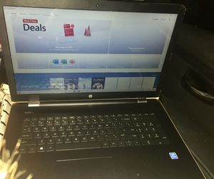"""HP 17"""" Touch Screen Laptop for Sale in Mocksville, NC"""