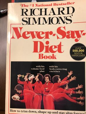 Never Say Diet Book for Sale in West Covina, CA
