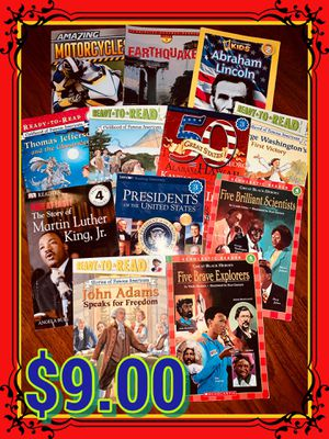 $9.00 early reader educational books for Sale in Fresno, CA