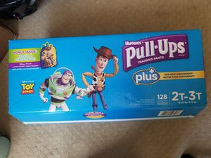 PP - 2T-3T diapers (128 count)-1 box for Sale in Dublin, CA