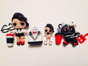 Black Tie Ultra Rare LoL Surprise family Doll Set for Sale in Edmonds, WA