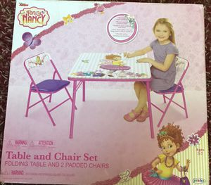Fancy Nancy kids table and chair set for Sale in Villa Park, IL