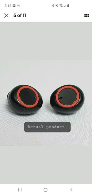 Waterproof noise canceling Bluetooth wireless earbuds for Android and iPhone for Sale in Swatara, PA